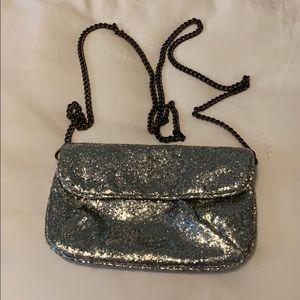 JCrew sparkle purse